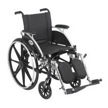Drive Medical Viper Wheelchair With Desk Arms and Leg Rest 14'' - $330.20