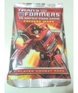TRANSFORMERS 3D BATTLE CARD ENERGON WARS GAME RANDOM PACK - $3.95