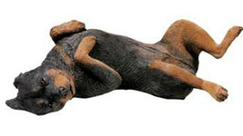 Sandicast Original size Rottweiler (OS471) Large Figurine - Laying on it... - $66.49