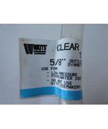"Watts 1/2"" ID x 5/8"" OD Clear Flexible PVC Vinyl Tubing Hose Food Grade ... - $4.29"