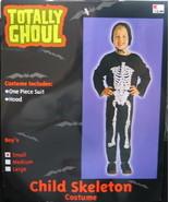 Child's Skeleton Halloween Costume, Large 8-12, NEW UNUSED - $4.99