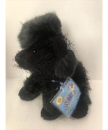 Ganz Webkinz HM191 Black Poodle Plush Stuffed Animal W/ CODE A20EF - $10.95