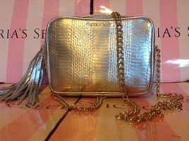 NWT Victoria's Secret 2016 Official Fashion Show Crossbody Bag Purse Silver - $30.18