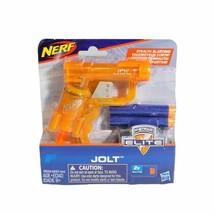 New 2016 Hasbro Nanofire + Jolt Elite Soft Dart Play Gun - $6.50