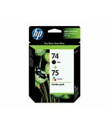 HP #74 #75 Combo-pack inks exp Apr 2022 - $32.00