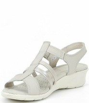 Ecco Women's Felicia Sandal Gravel/Moon Rock 9-9.5 US 40 EUR - $70.08
