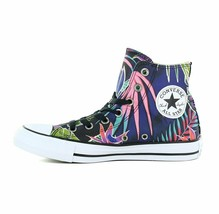 Converse Chuck Taylor All Star Palm Tree Floral Fuchsia Glow Sneakers 15... - $54.95
