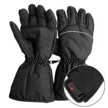 Heated Gloves Battery Powered Electric Winter Warm Waterproof Ski Motorc... - $27.99