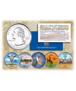 2007 US Statehood Quarters COLORIZED Legal Tender 5-Coin Complete Set w/... - $17.16 CAD
