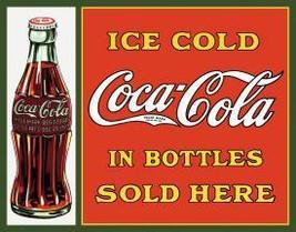 Coca-Cola Collector's Tin Metal Sign - $22.00