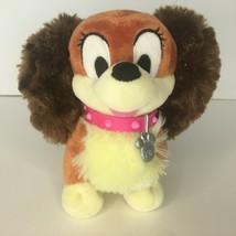 Disney Store Fifi Stuffed Animal Plush Toy Dog Minnie Mouse Puppy Pink C... - $6.79