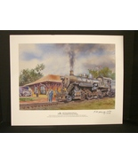 National Railroad Museum Signed , Numbered Print (2012 ) by Steve Krueger - $11.90