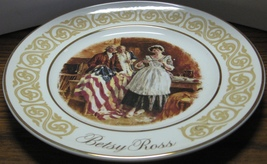 Avon Betsy Ross Collector Plate 1973 Vintage With Box and Outer Sleeve - $7.95