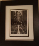 Signed and Framed Jesse Kalisher San Francisco Trolley Car photo - $55.00