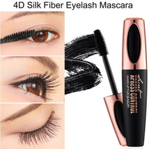 4D Silk Fiber Eyelash Mascara Extension Makeup Black Waterproof Kit Eye ... - $2.89