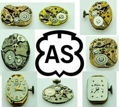 AS Old  Antique Vintage Watch Movement For Parts, Replacement, Repair Ve... - $5.89+