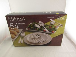 Mikasa 54 Piece Set Plus Eight Extra Teaspoons Plus 6 Piece Serving Set - $115.99