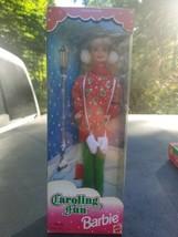 Vintage 1995 Caroling fun Barbie Doll Mattel 13966 Special Edition Holid... - $15.83