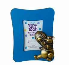 Walt Disney Frame Winnie Pooh 2X3 vtg hunny honey 2.25X3.25 photo picture piglet - $19.69