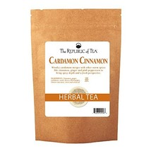 The Republic of Tea, Cardamon Cinnamon Herbal Tea, 250 Tea Bag Bulk