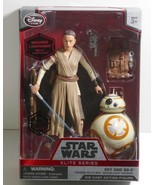 Disney Store Star Wars Rey & BB-8 Elite Series Die Cast Action Figures S... - $18.69