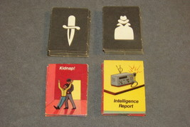 Cloak & Dagger Ideal 1984 Game Part: Set of 36 Cloak & Dagger Cards - $7.00