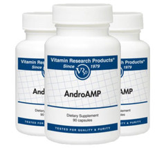 AndroAMP 90 capsules - 3 Pack! Vitamin Research Products
