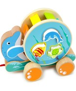 Toddler Toys For Boys, Wooden Wonders Ocean Pals Sorter Girls Playset Fo... - $35.99