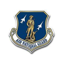Air National Guard Seal Magnet by Classic Magnets, Collectible Souvenirs Made in - $4.12