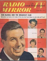 ORIGINAL Vintage February 1951 Radio TV Mirror Magazine Don McNeill Fran... - $18.51