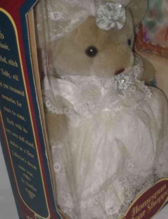 "Sweet 14"" Homespun BEAR Shoppe Bear DANDEE 1991 In Box"