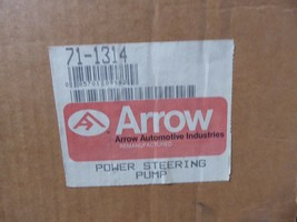 71-1314 GM Power Steering Pump Remanufactured By Arrow Buick 1980 image 2