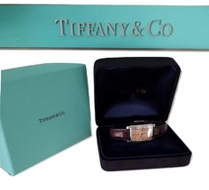 * Tiffany & Co. Tiffany Grand Copper Face Ladies Watch With Alligator Band - $975.00