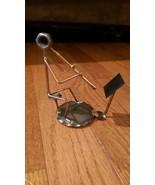 Rock Creek Metal Craft Statue - Wind Musician Flute? Clarinet? - $12.99