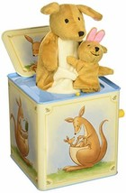 Schylling Kangaroo Jack in The Box Musical Wind up Toy  - $56.30
