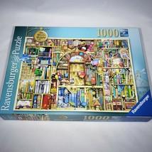 The Bizarre Bookshop No 2 Ravensburger 1000 Piece Jigsaw Puzzle Complete - $15.95