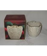 Lenox Vintage MERRY LIGHTS Santa Votive Candle Holder Christmas China w box - $12.61