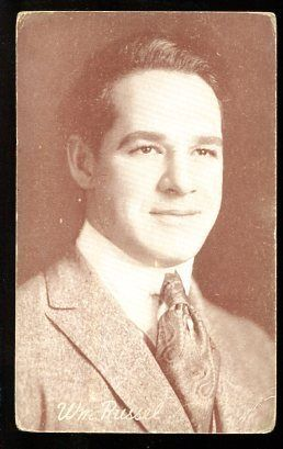 Primary image for WILLIAM RUSSEL-ARCADE CARD-1920 FR/G