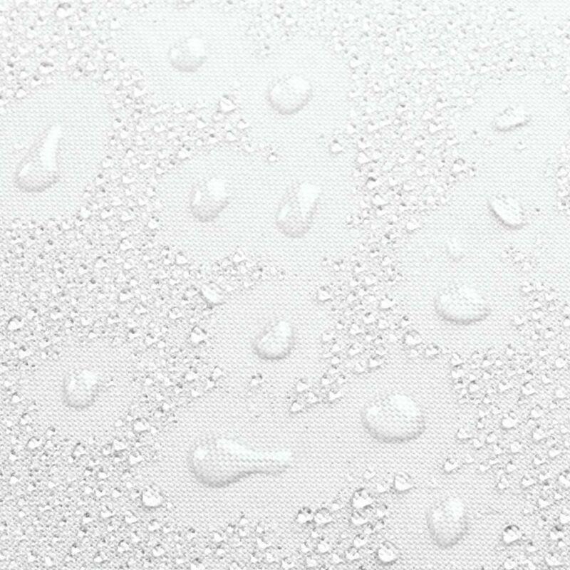 Interdesign Fabric Long Shower, Modern Mildew-Resistant Bath Curtain Liner For M