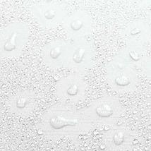 Interdesign Fabric Long Shower, Modern Mildew-Resistant Bath Curtain Liner For M image 5