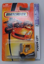 Matchbox MBX Metal Power Lift Die-cast #45 NIP  - $8.36