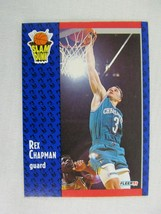 Rex Chapman Charlotte Hornets 1991 Fleer Basketball Card 229 - $0.98