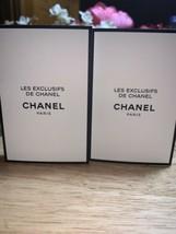X2 Les Exclusifs De Chanel N•22 2ml Eau De Parfum Travel Size New & Carded - $19.79