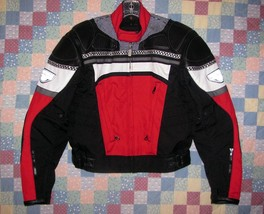 First Gear Motorcycle Jacket Women's Size S Leather High Performance Bla... - $75.99