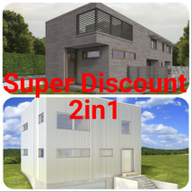 2in1 House Plan  Super Discount - $120.00