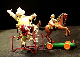 Hallmark Handcrafted Ornaments Toymaker Santa and a Pony for Christmas AA-191779 image 10