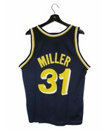 Champion Reggie Miller Indiana Pacers Basketball Jersey (Large) - $69.29
