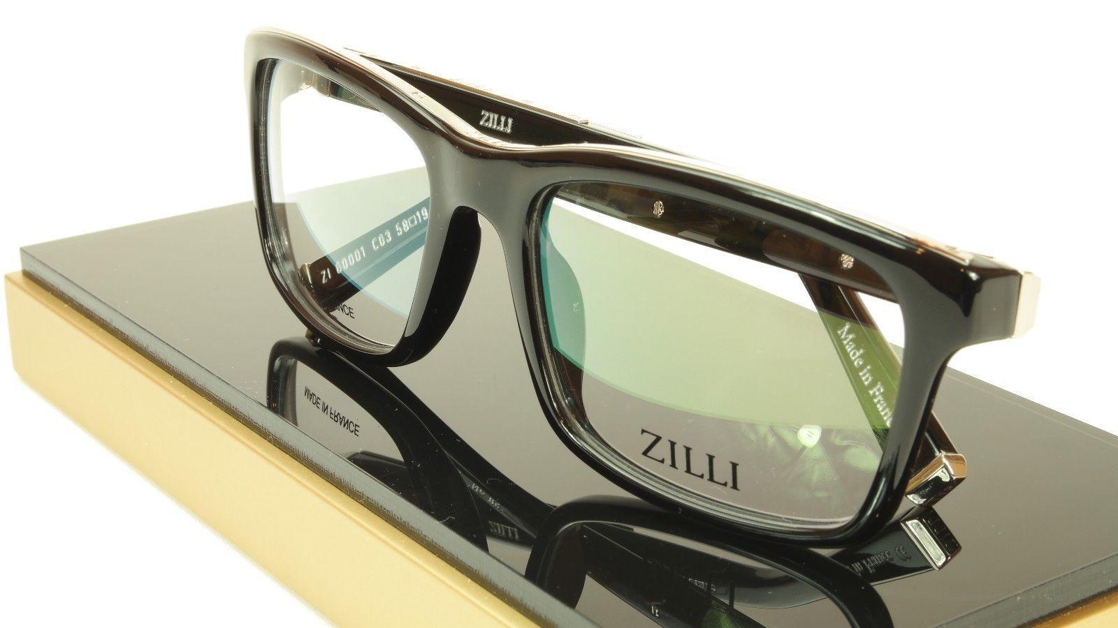d2e09af5fac S l1600. S l1600. Previous. ZILLI Eyeglasses Frame Acetate Leather Titanium  France Hand Made ZI 60001 C03
