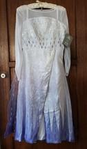 Disney Store Snow Queen Elsa Deluxe Costume for Kids Size 9/10 Frozen 2 - $82.87