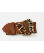 "Handmade bronze buckle ""PIRATE"" 40 mm for belt - $214.00"